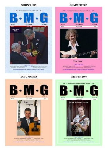 All Four BMG Issues. 2009.