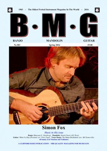 BMG. BACK ISSUE. SPRING 2016.