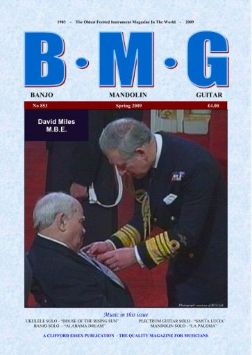 BMG. Back Issue. Spring 2009.