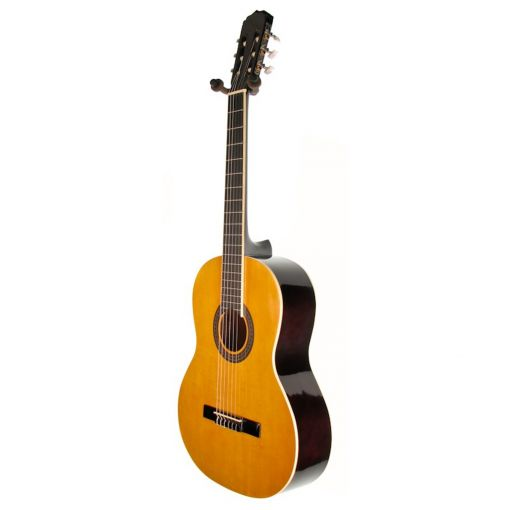 ARIA FIESTA. FULL SIZE CLASSICAL ACOUSTIC GUITAR. A COMPLETE PACKAGE. EVERYTHING YOU NEED.