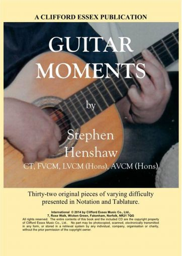 GUITAR MOMENTS BY STEPHEN HENSHAW.
