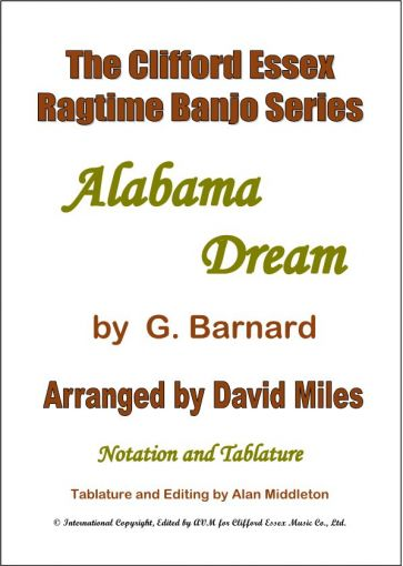 Alabama Dream BY G. BARNARD. ARR BY DAVID MILES M.B.E.