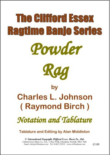 POWDER RAG BY CHARLES L. JOHNSON (RAYMOND BIRCH).