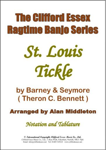 ST. LOUIS TICKLE BY BARNEY & SEYMORE (THERON C. BENNETT).