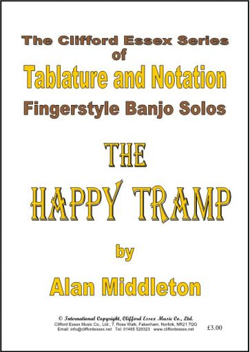 THE HAPPY TRAMP BY ALAN MIDDLETON.