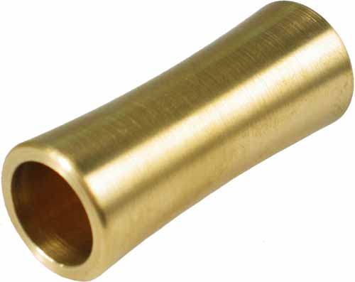 DUNLOP HEAVY/MEDIUM CONCAVE BRASS GUITAR SLIDE.