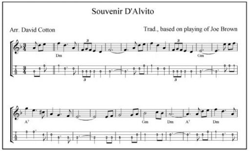 Souvenir Dalvito Mandolin Musictab Recorded By Joe Brown You