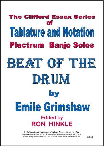 BEAT OF THE DRUM BY EMILE GRIMSHAW.