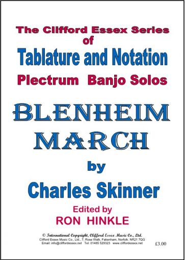 BLENHEIM MARCH BY CHARLES SKINNER.