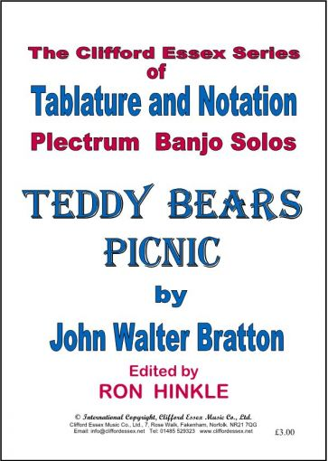 Teddy Bear\'s Picnic, plectrum banjo solo, written in notation and ...
