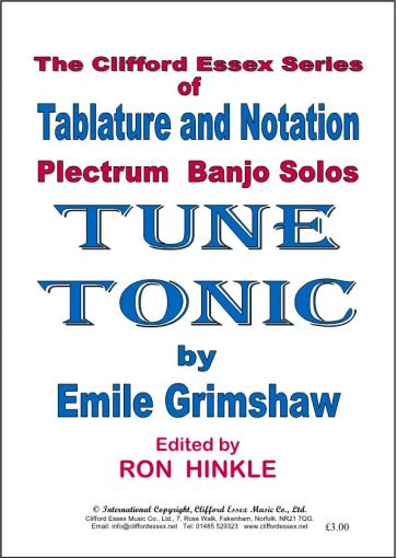 TUNE TONIC BY EMILE GRIMSHAW. ARRANGED BY RON HINKLE.