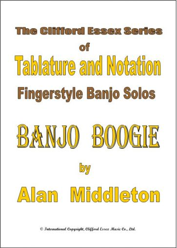 BANJO BOOGIE BY ALAN MIDDLETON. 'A FIRM FAVOURITE'.