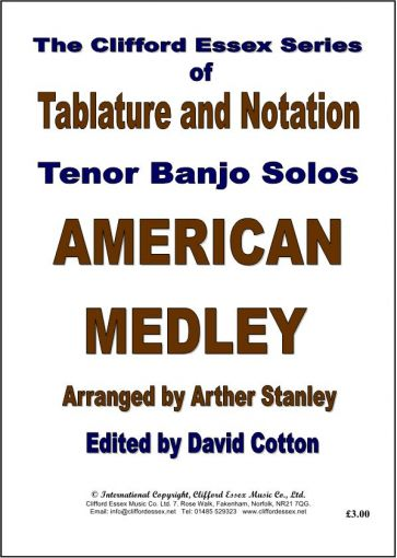 AMERICAN MEDLEY ARRANGED BY ARTHER STANLEY.