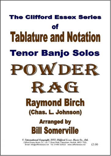 POWDER RAG ARRANGED BY BILL SOMERVILLE.