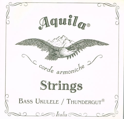 AQUILA THUNDERGUT BASS UKULELE STRINGS.