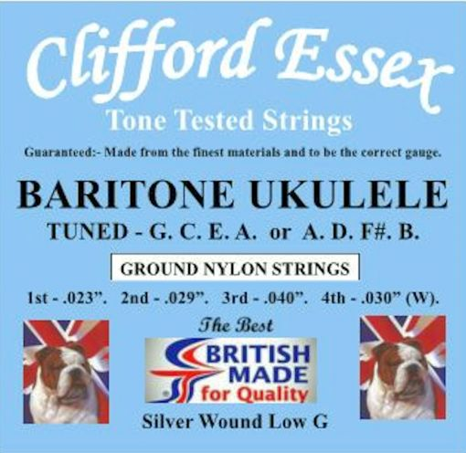 baritone ukulele strings tuned gcea with a low 4th strings ukulele strings baritone. Black Bedroom Furniture Sets. Home Design Ideas