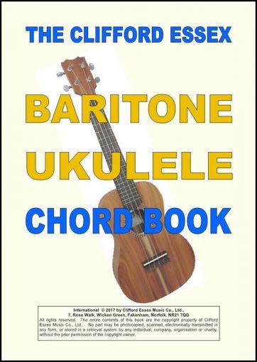 Baritone Ukulele Chord Book Dgbe Tuning A Thorough And